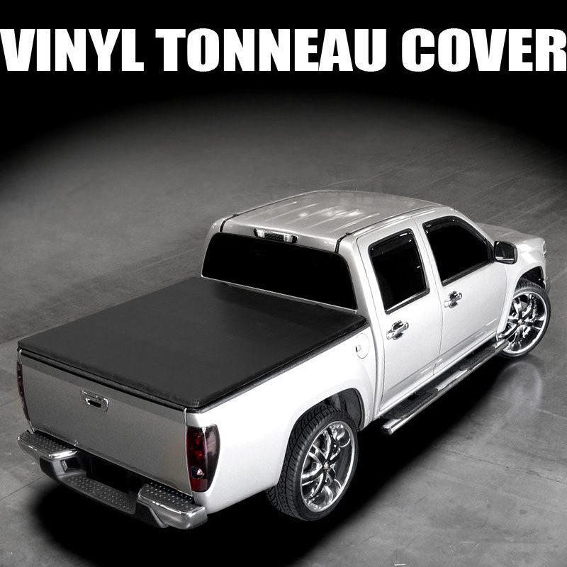 snap on vinyl soft tonneau cover 2005 2015 nissan frontier crew king cab 6 ft bed. Black Bedroom Furniture Sets. Home Design Ideas