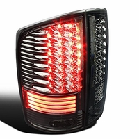 Spec-D 02-06 Dodge RAM Truck LED Tail Lights - Smoked