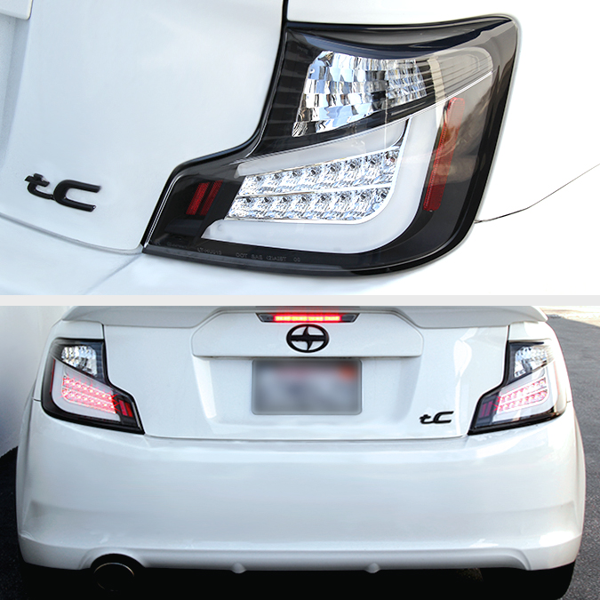 Worksheet. 20112013 Scion tC Euro Style LED Tail Lights  Smoked