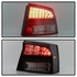 Spyder 06-08 Dodge Charger LED Tail Lights - Black Smoked