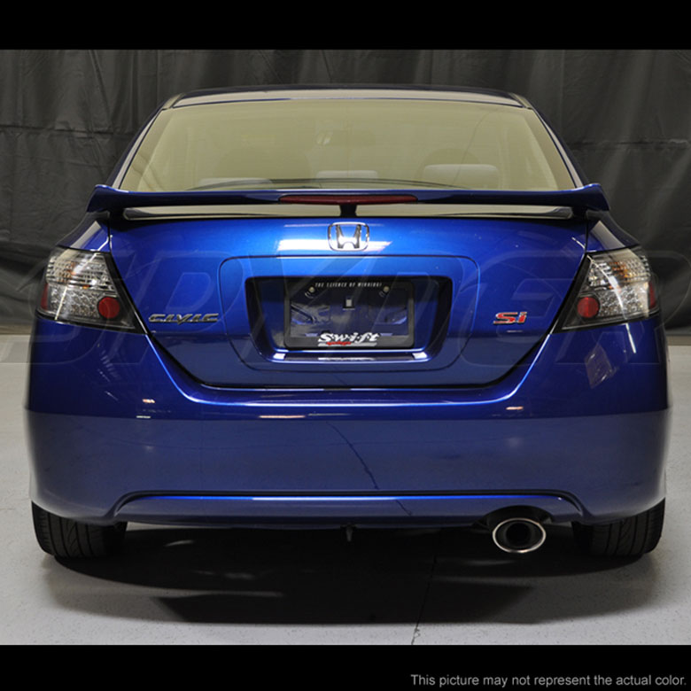 06 11 Honda Civic 2dr Coupe Ex Lx Si Led Tail Lights Smoked 111 Hc06 2d Led Sm By Spyder