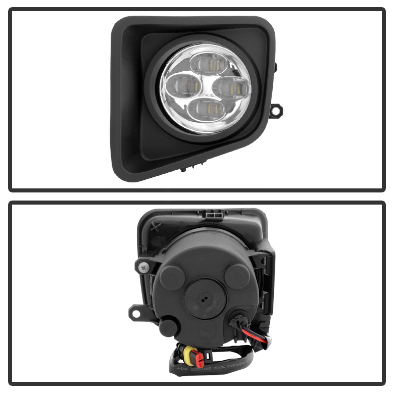 Spyder 14 16 Toyota Tundra Led Fog Lights Kit