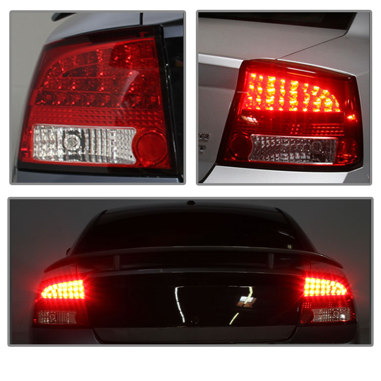 08 Dodge Charger For Sale: Spyder 2006-2008 Dodge Charger LED Performance Tail Lights