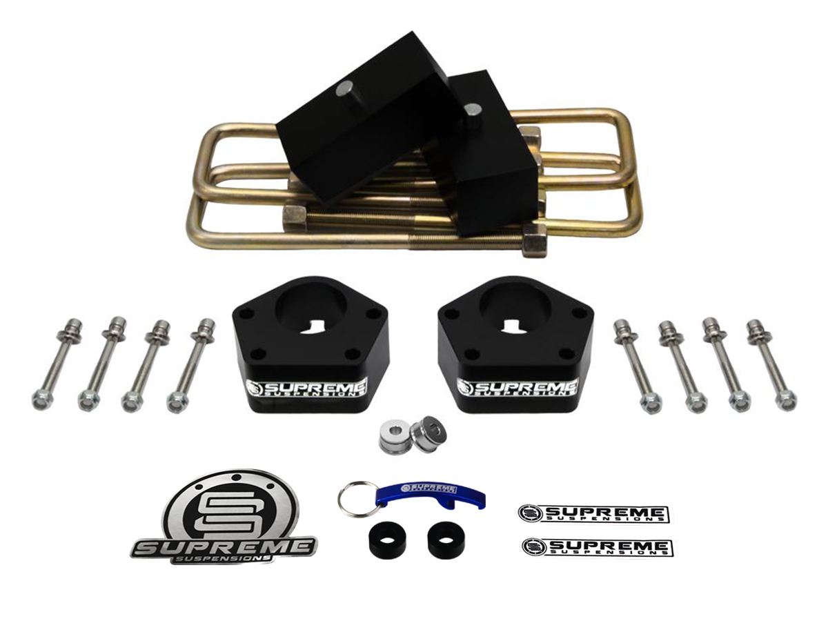 Supreme Suspension 3 Front 2 Rear Pro Billet Lift Kit For 1986 Toyota Installation 1995 Ifs Pickup 4wd