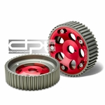 Toyota Supra / Lexus IS300 GS300 SC300 Performance Adjustable Aluminum Cam Gear - Red