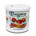 TREEFROG CHERRY SCENT LONG LASTING 2.8OZ 80G CAR/AUTO/TRUCK/OFFICE AIR FRESHENER