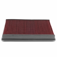 VW CC / Eos / Passat / Audi TT Quattro Reusable Replacement Engine High Flow Drop-in Air Filter (Red)