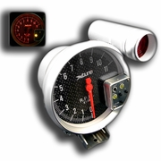 X-Tune 5 Inch Tachometer 7 Color - Paint Carbon