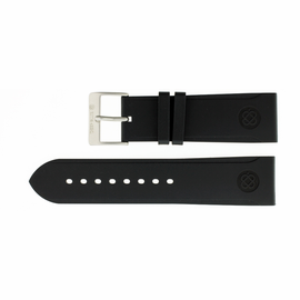 24mm Italian Rubber Strap Cutout Design