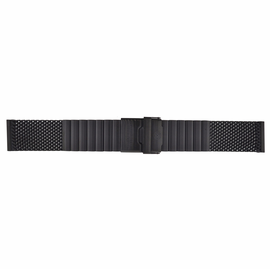 24MM MESH BRACELET PVD BLACK STAINLESS STEEL