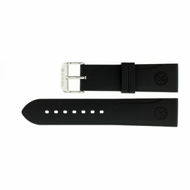 26mm Italian Rubber Strap Cutout Design