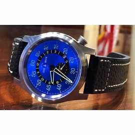 "AIR BLUE ""PAPA"" PRAESTO  PILOT WATCH"