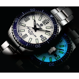 ALPHA MARINE 500 T-100 TRITIUM SWISS AUTOMATIC- 5 colors
