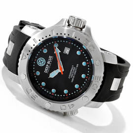 Black Juggernaut Quartz 1000m Diver Silicon Collection