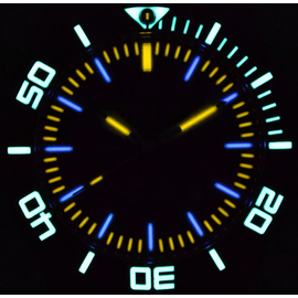 Blue Dial Lume shot