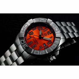 BLUETECH ABYSS II  T-100 TRITIUM SWISS AUTOMATIC ORANGE DIAL