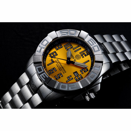BLUETECH ABYSS II  T-100 TRITIUM SWISS AUTOMATIC YELLOW DIAL