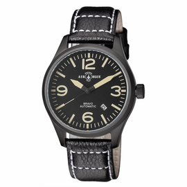 BRAVO AUTOMATIC PVD BLACK CASE BLACK TAN DIAL