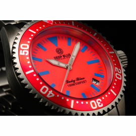 Cherry Pink Lume Dial