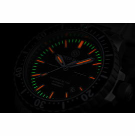 Daynight 65 T-100 Automatic – 65 Tritium Tubes Black Dial