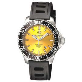 DAYNIGHT  DIVER T-100  AUTOMATIC – SS YELLOW DIVER WITH HYDRO 91 RUBBER STRAP