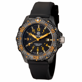 DAYNIGHT DIVER TRITIUM BLACK/ORANGE