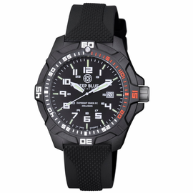 DAYNIGHT PC TRITIUM DIVER WATCH  BLACK/RED