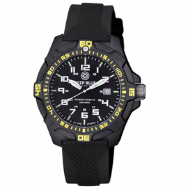 DAYNIGHT PC TRITIUM DIVER WATCH  BLACK/YELLOW