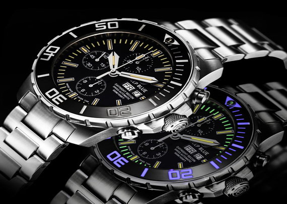 DAYNIGHT RECON 7750 TRITIUM CHRONOGRAPH
