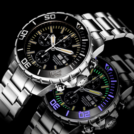 DAYNIGHT RECON 7750 TRITIUM CHRONOGRAPH LIMITED EDITION 10 YEAR ANNIVERSARY EDITION