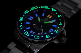 DAYNIGHT RESCUE T-100 TRITIUM SWISS AUTO GMT