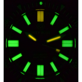 Daynight T100  44.5mm PVD Lume Shot