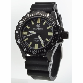 DAYNIGHT T100 OPS TRITIUM FLAT TUBES PVD CASE Diver Strap