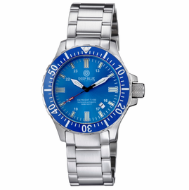 DAYNIGHT TRITDIVER T-100 AUTOMATIC BLUE BEZEL � LIGHT BLUE DIAL