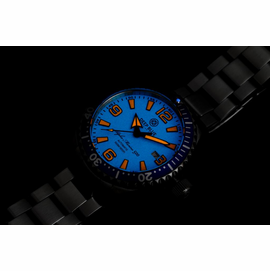DEEP BLUE 42MM ALPHA MARINE 500 DIVER BLUE/ORANGE