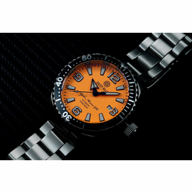 DEEP BLUE 42MM ALPHA MARINE 500 DIVER ORANGE/WHITE