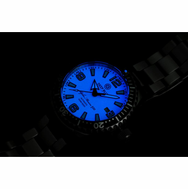 DEEP BLUE 42MM ALPHA MARINE 500 DIVER WHITE/BLUE