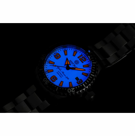 DEEP BLUE 42MM ALPHA MARINE 500 DIVER WHITE/ORANGE