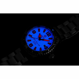 DEEP BLUE 42MM ALPHA MARINE 500 DIVER WHITE/RED