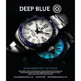 Deep Blue Ad campaign Summer 2013
