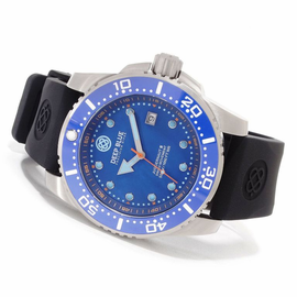 DEEP BLUE JUGGERNAUT III QUARTZ DIVER MOP DIAL COLLECTION