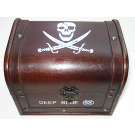 """Deep Blue"" Treasure Chest"