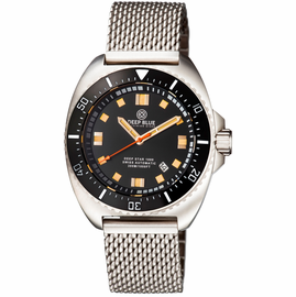 DEEP STAR 1000  SWISS AUTOMATIC BRACELET – DIVER BLACK