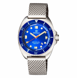 DEEP STAR 1000  SWISS AUTOMATIC BRACELET – DIVER BLUE