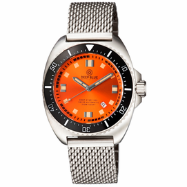 DEEP STAR 1000  SWISS AUTOMATIC BRACELET – DIVER ORANGE