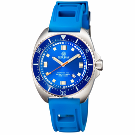 DEEP STAR 1000  SWISS AUTOMATIC STRAP– DIVER BLUE/BLUE