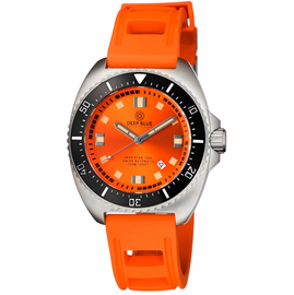 DEEP STAR 1000  SWISS AUTOMATIC STRAP– DIVER ORANGE