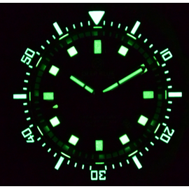 DEEP STAR LUME BLACK DIAL
