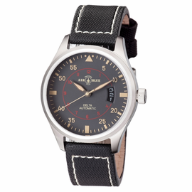 DELTA AUTOMATIC  STAINLESS CASE GREY  DIAL