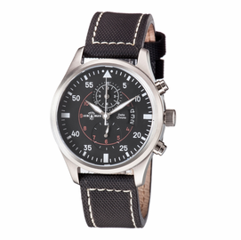 DELTA CHRONOGRAPH STAINLESS CASE BLACK  DIAL